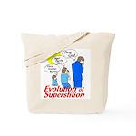 Evolution of Superstition Tote Bag