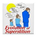 Evolution of Superstition Tile Coaster