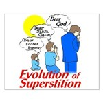 Evolution of Superstition Small Poster