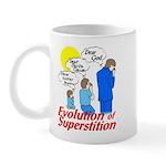 Evolution of Superstition Mug