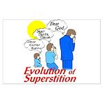 Evolution of Superstition Large Poster