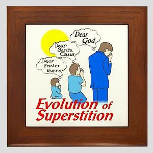 Evolution of Superstition Framed Tile
