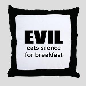 discrimination Throw Pillow