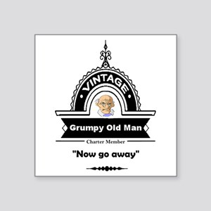 Fun Quote Grumpy Old Man Sticker