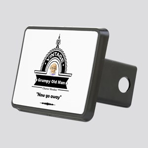 Fun Quote Grumpy Old Man Rectangular Hitch Cover
