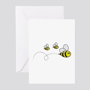 Mom to bee greeting cards cafepress bees greeting cards pk of 10 m4hsunfo