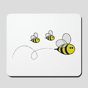 Bees!! Mousepad