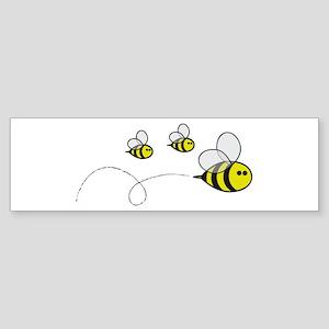 Bees!! Bumper Sticker