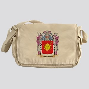 Esposito Coat of Arms (Family Crest) Messenger Bag
