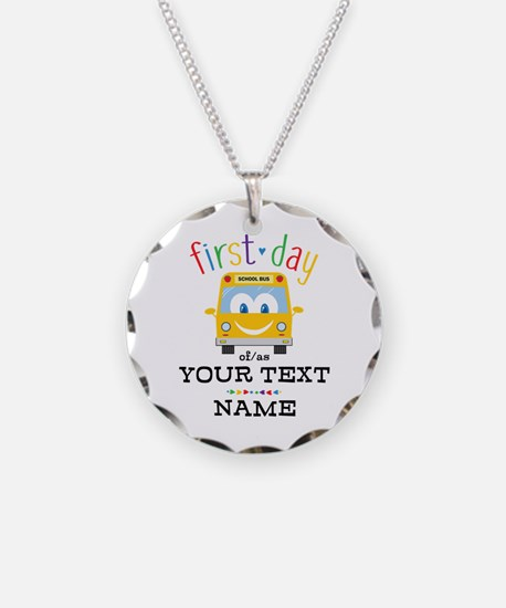Custom First Day Necklace