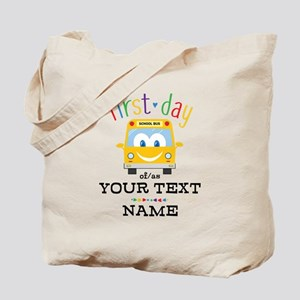 Custom First Day Tote Bag