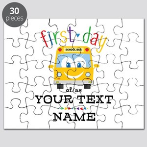 Custom First Day Puzzle