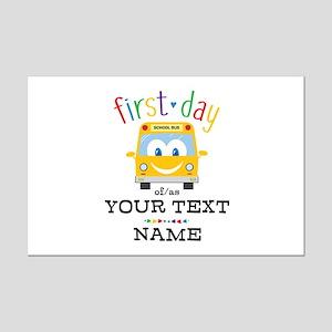 Custom First Day Mini Poster Print