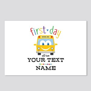 Custom First Day Postcards (Package of 8)