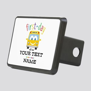Custom First Day Rectangular Hitch Cover