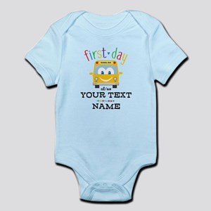 Custom First Day Infant Bodysuit