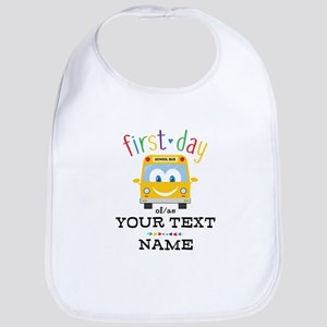 Custom First Day Bib