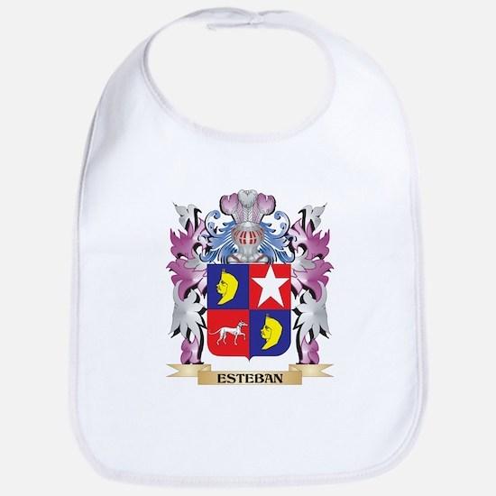 Esteban Coat of Arms (Family Crest) Bib