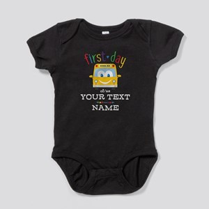 Custom First Day Baby Bodysuit