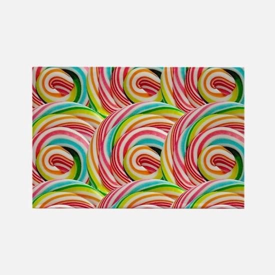 Unique Lollipop Rectangle Magnet