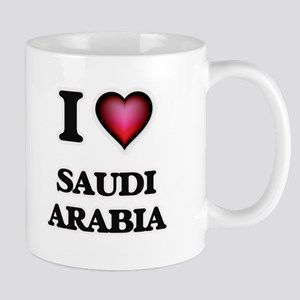 I love Saudi Arabia Mugs