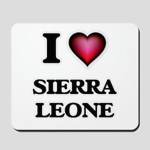 I love Sierra Leone Mousepad