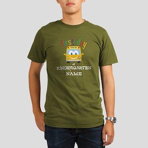 Custom Kindergarten Organic Men's T-Shirt (dark)