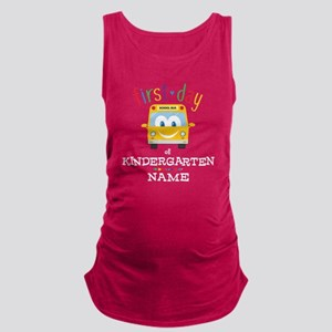 Custom Kindergarten Maternity Tank Top