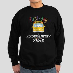 Custom Kindergarten Sweatshirt (dark)