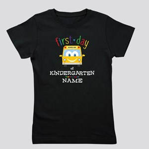 Custom Kindergarten Girl's Tee