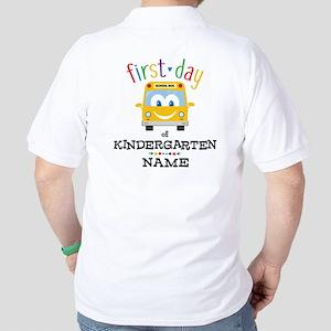 Custom Kindergarten Golf Shirt