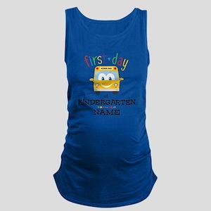 Custom Kindergarten Maternity Tank Top