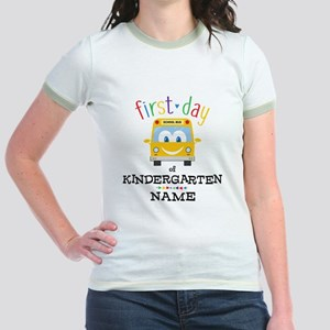 Custom Kindergarten Jr. Ringer T-Shirt