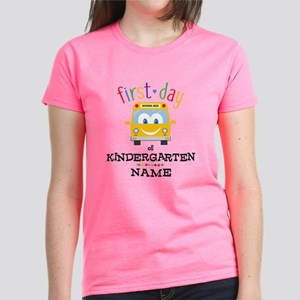 Custom Kindergarten Women's Dark T-Shirt
