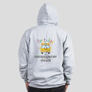 Custom Kindergarten Zip Hoodie