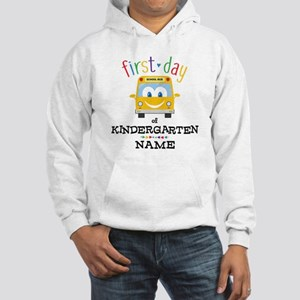 Custom Kindergarten Hooded Sweatshirt
