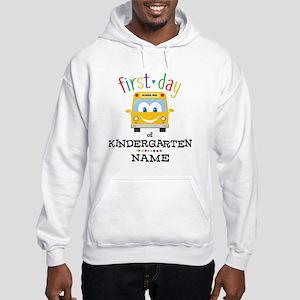 Custom Kindergarten Hooded Sweatshirt