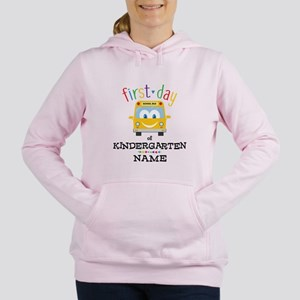 Custom Kindergarten Women's Hooded Sweatshirt