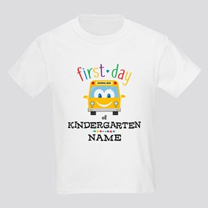 Custom Kindergarten Kids Light T-Shirt
