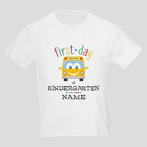 Custom Kindergarten Kids Light T-Shirt