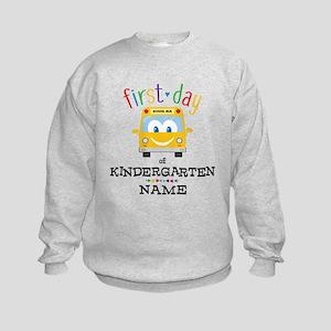 Custom Kindergarten Kids Sweatshirt