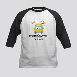 Custom Kindergarten Kids Baseball Jersey