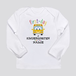 Custom Kindergarten Long Sleeve Infant T-Shirt