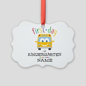 Custom Kindergarten Picture Ornament
