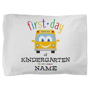 Custom Kindergarten Pillow Sham