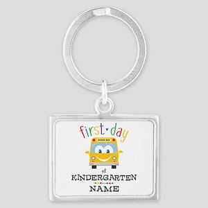 Custom Kindergarten Landscape Keychain