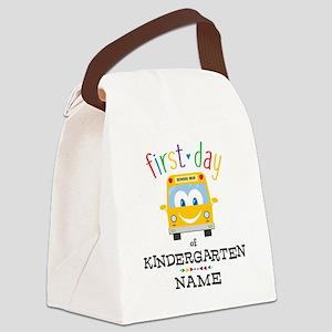 Custom Kindergarten Canvas Lunch Bag