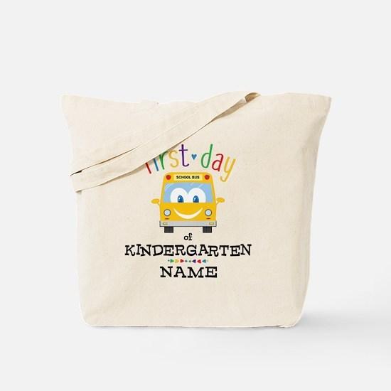 Custom Kindergarten Tote Bag