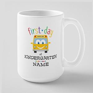 Custom Kindergarten Large Mug