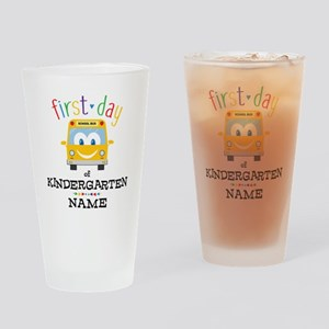 Custom Kindergarten Drinking Glass